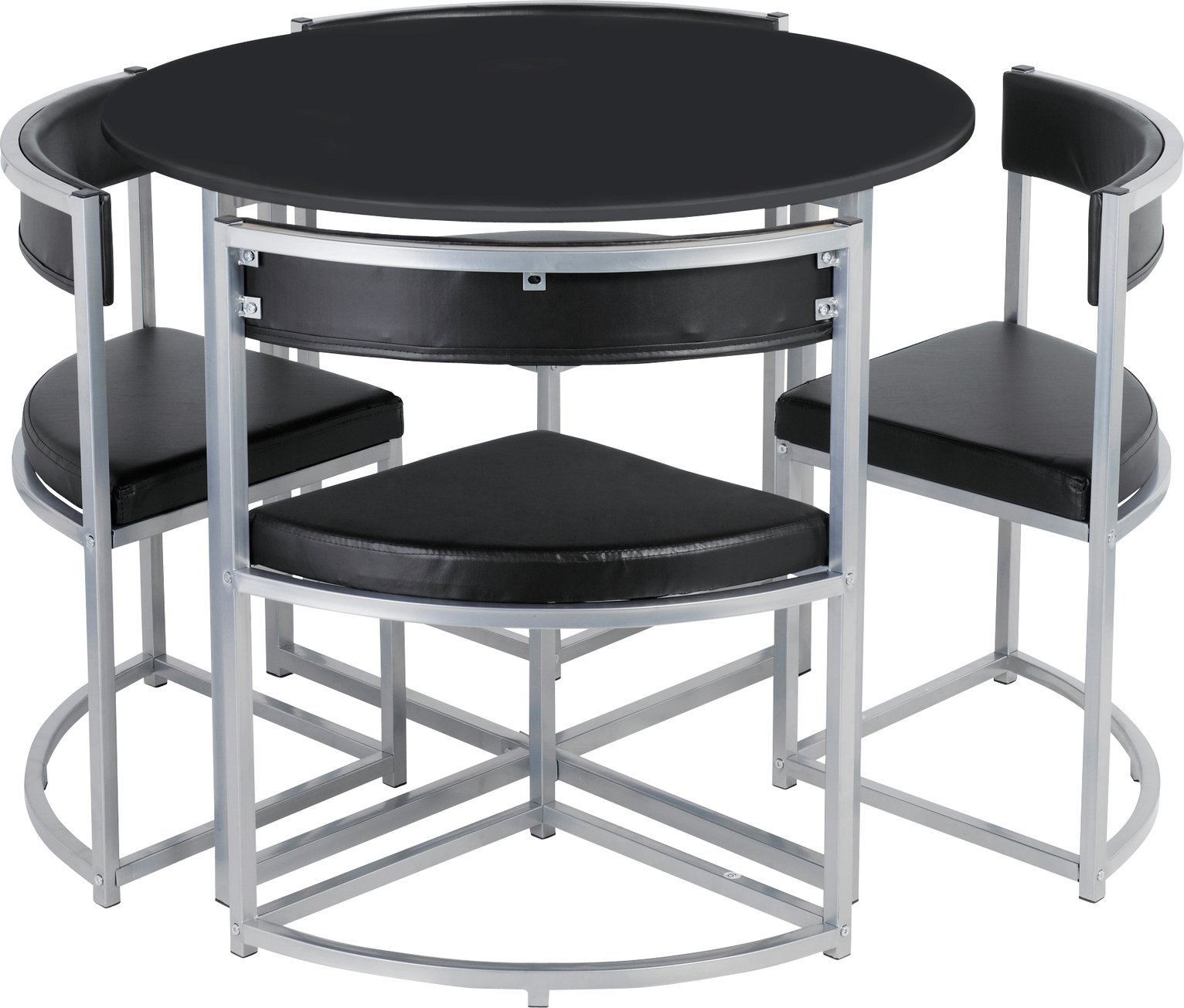 Hygena Milan Space Saver Table & 4 Chairs Review