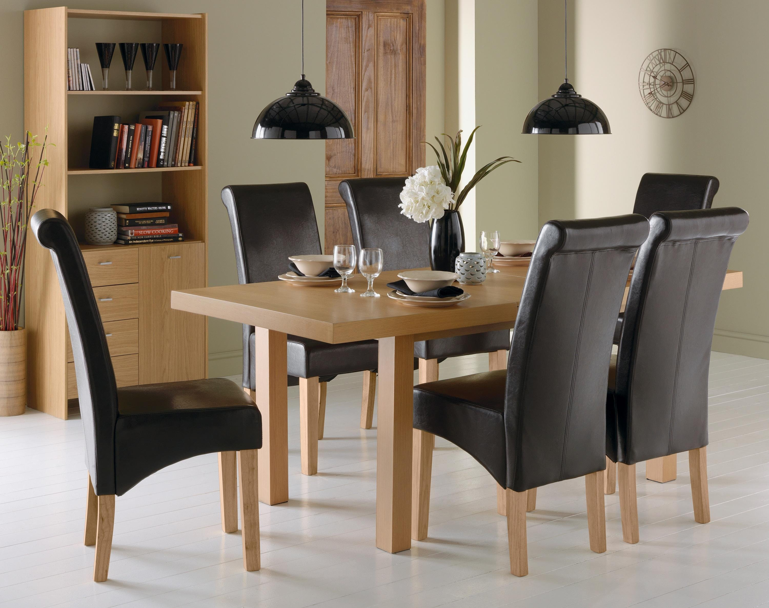 Buy Collection Wickham Dining Table amp 6 Chairs Oak Veneer  : 6037431RZ001AUC1435580Webampw570amph513 from www.argos.co.uk size 570 x 513 jpeg 44kB