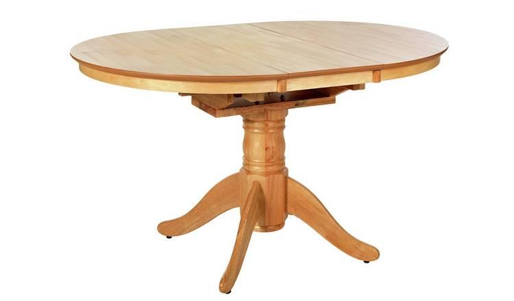 584e57836e Argos Home Kentucky Extendable Wood Veneer 4 Seater Table603/8241
