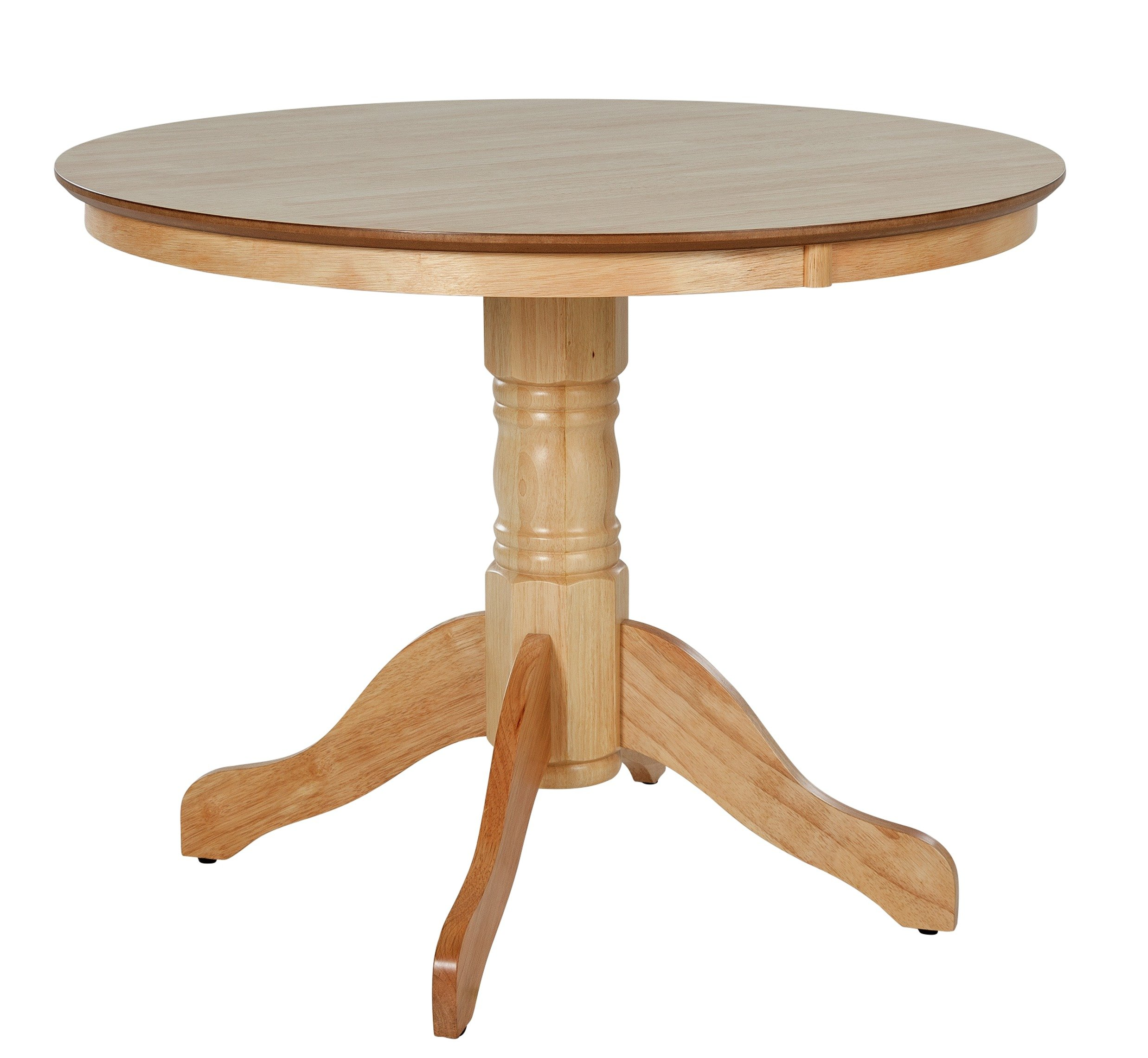 SALE On Collection Kentucky Round Solid Wood Dining Table
