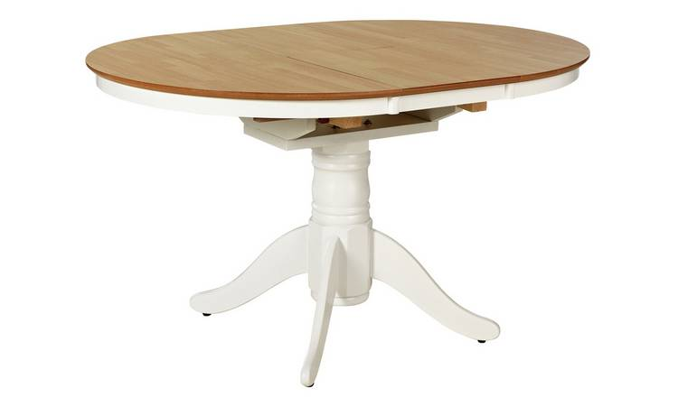 Awesome Buy Argos Home Kentucky Extendable 4 6 Seater Table Two Tone Dining Tables Argos Squirreltailoven Fun Painted Chair Ideas Images Squirreltailovenorg