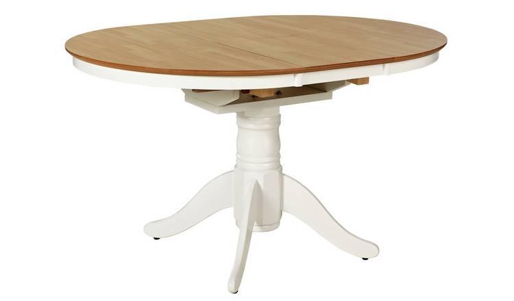 622f75fbde Argos Home Kentucky Extendable 4 - 6 Seater Table - Two Tone603/8430