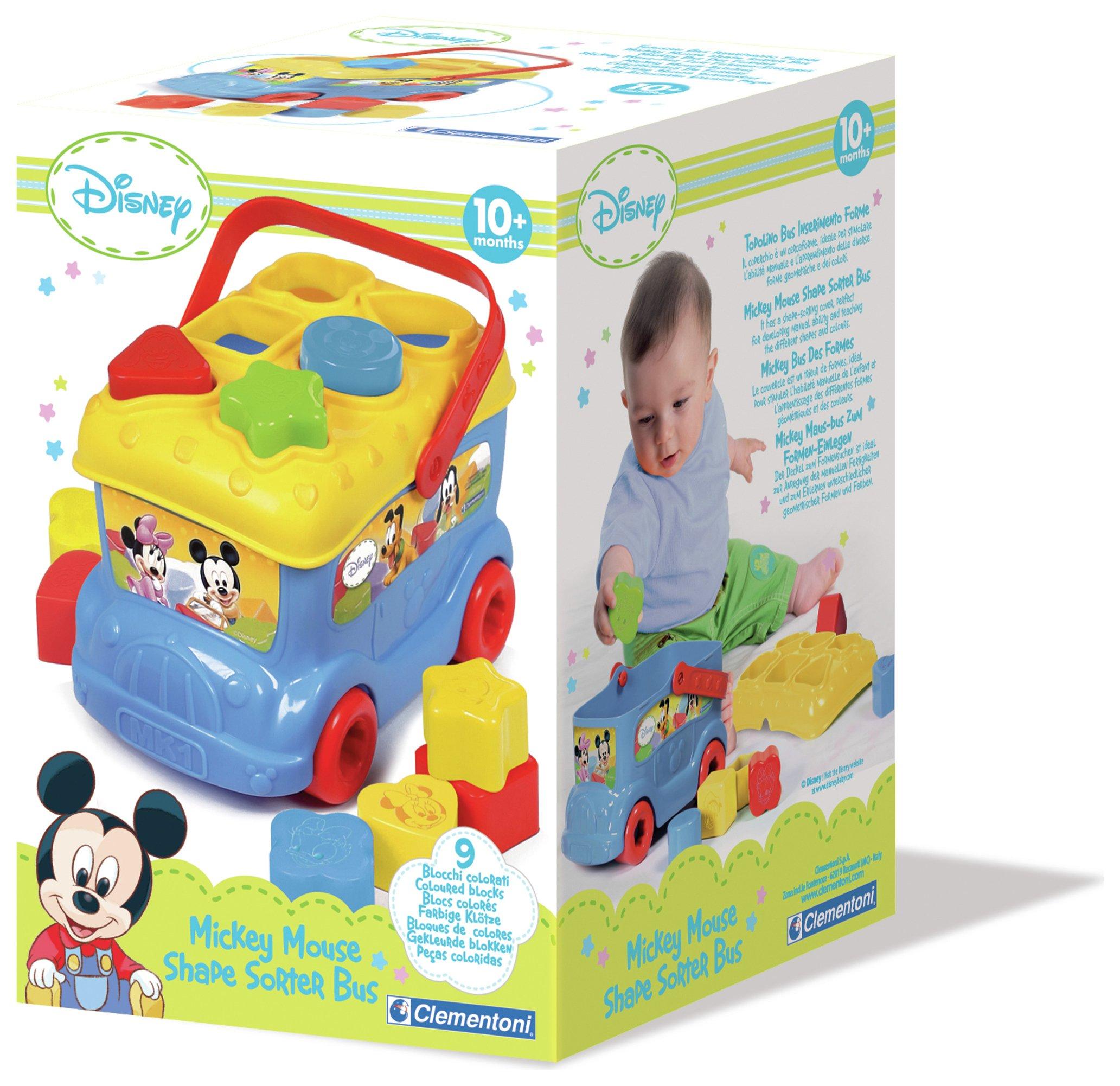 Image of Disney Baby Shape Sorter Bus.