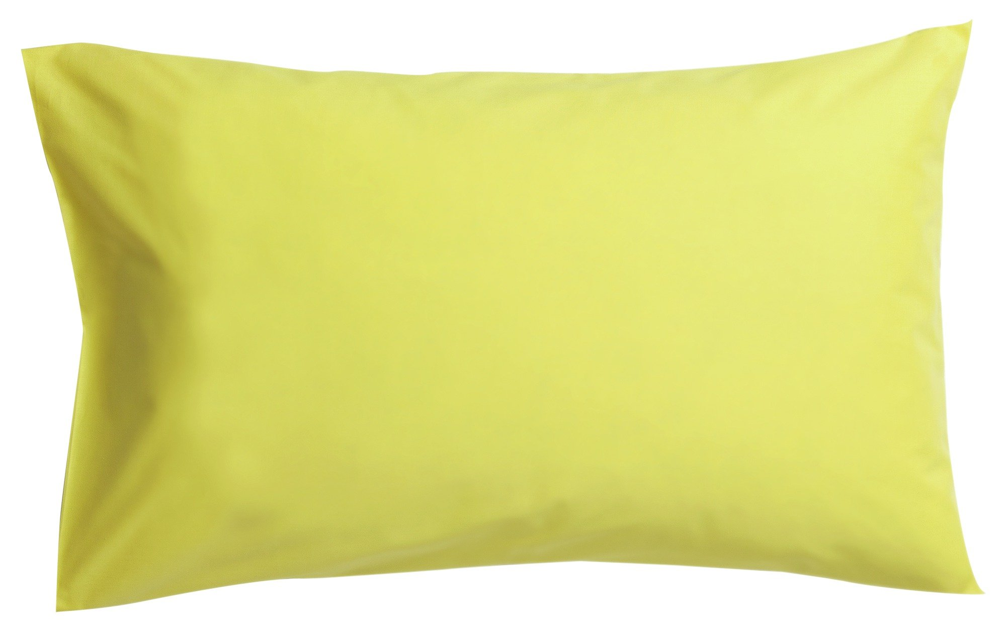 colourmatch pair of housewife pillowcases  zest