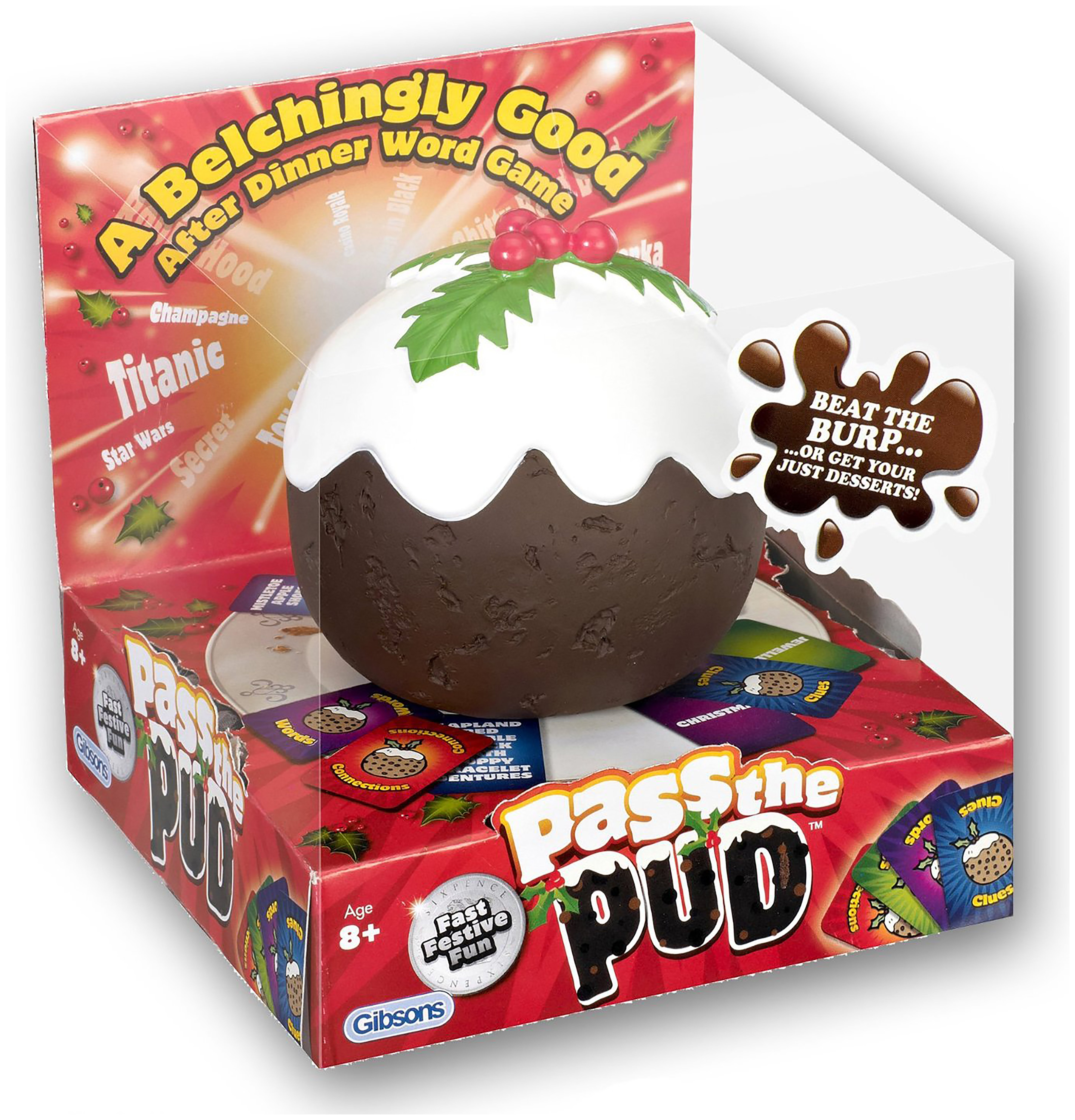 Image of Pass The Pud Game.