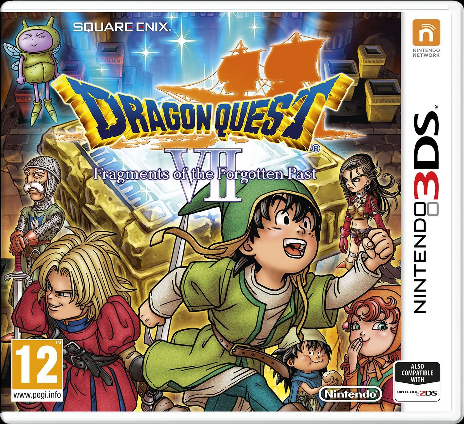 Nintendo Dragon Quest - VII - Fragments of the Forgotten Past - 3DS Game
