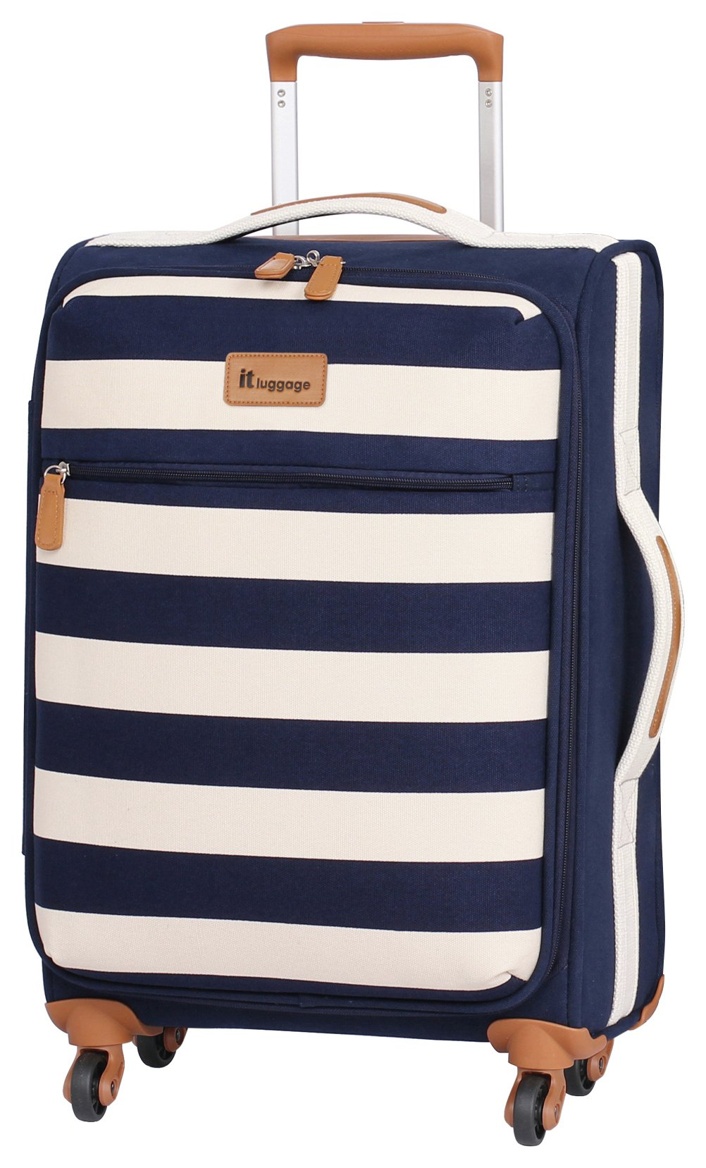 ec33ebeb1 IT Luggage Lightweight Small 4 Wheel Suitcase - Nautical (6039264) | Argos  Price Tracker | pricehistory.co.uk