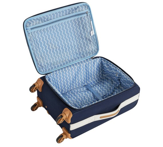 Buy IT Luggage Lightweight Small 4 Wheel Suitcase - Nautical at ...
