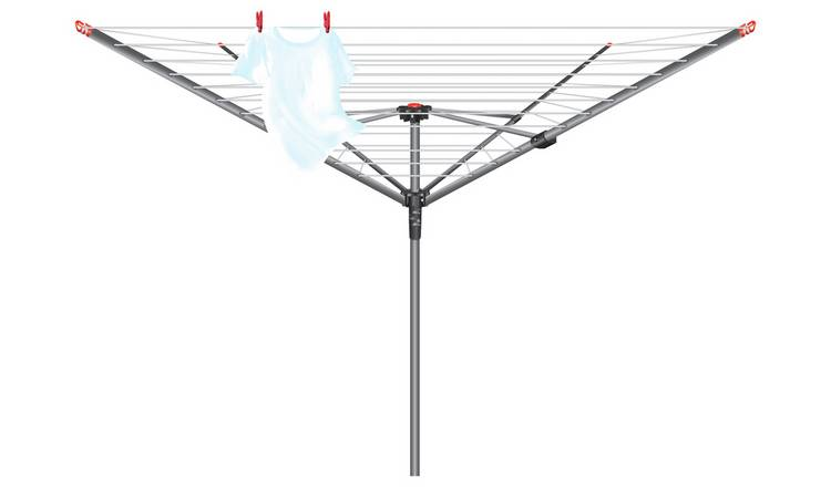 Vileda 50m 4 Arm Rotary Outdoor Washing Line