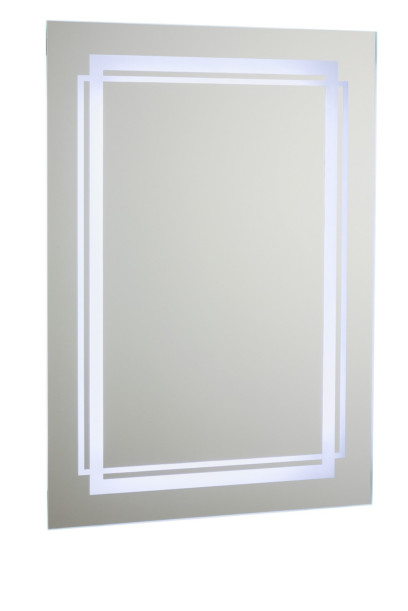Collection Moda LED Bathroom Mirror with Shaver Point
