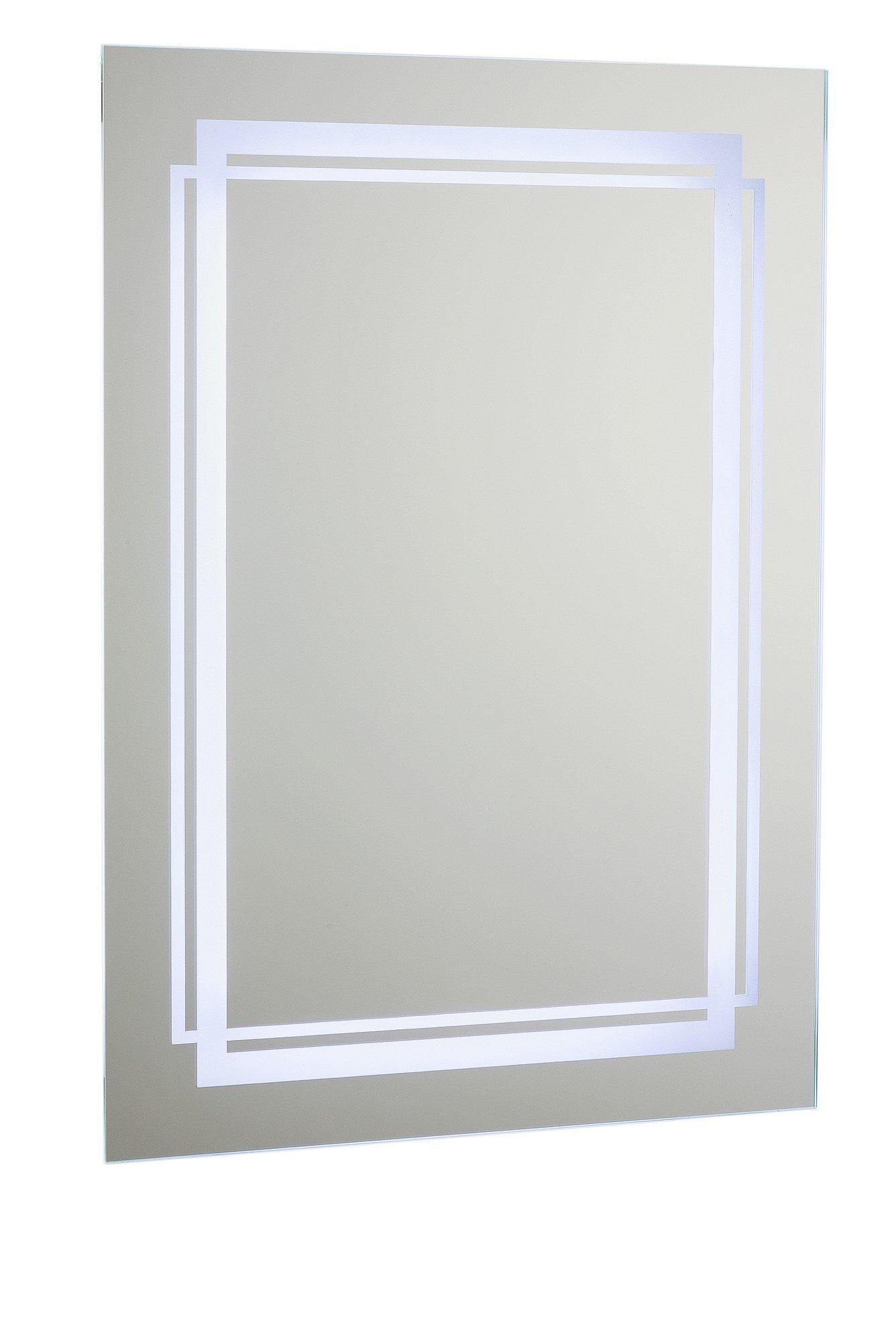 Argos Home Moda LED Bathroom Mirror with Shaver Point