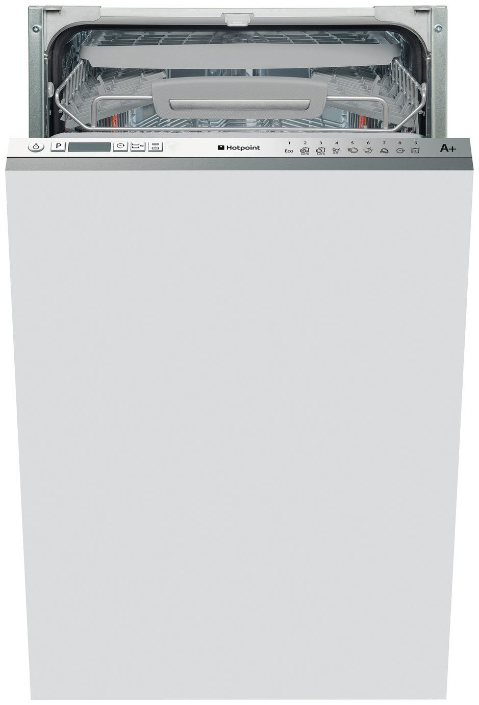 Hotpoint LSTF9H123CL Slim Integrated Dishwasher - S/Steel
