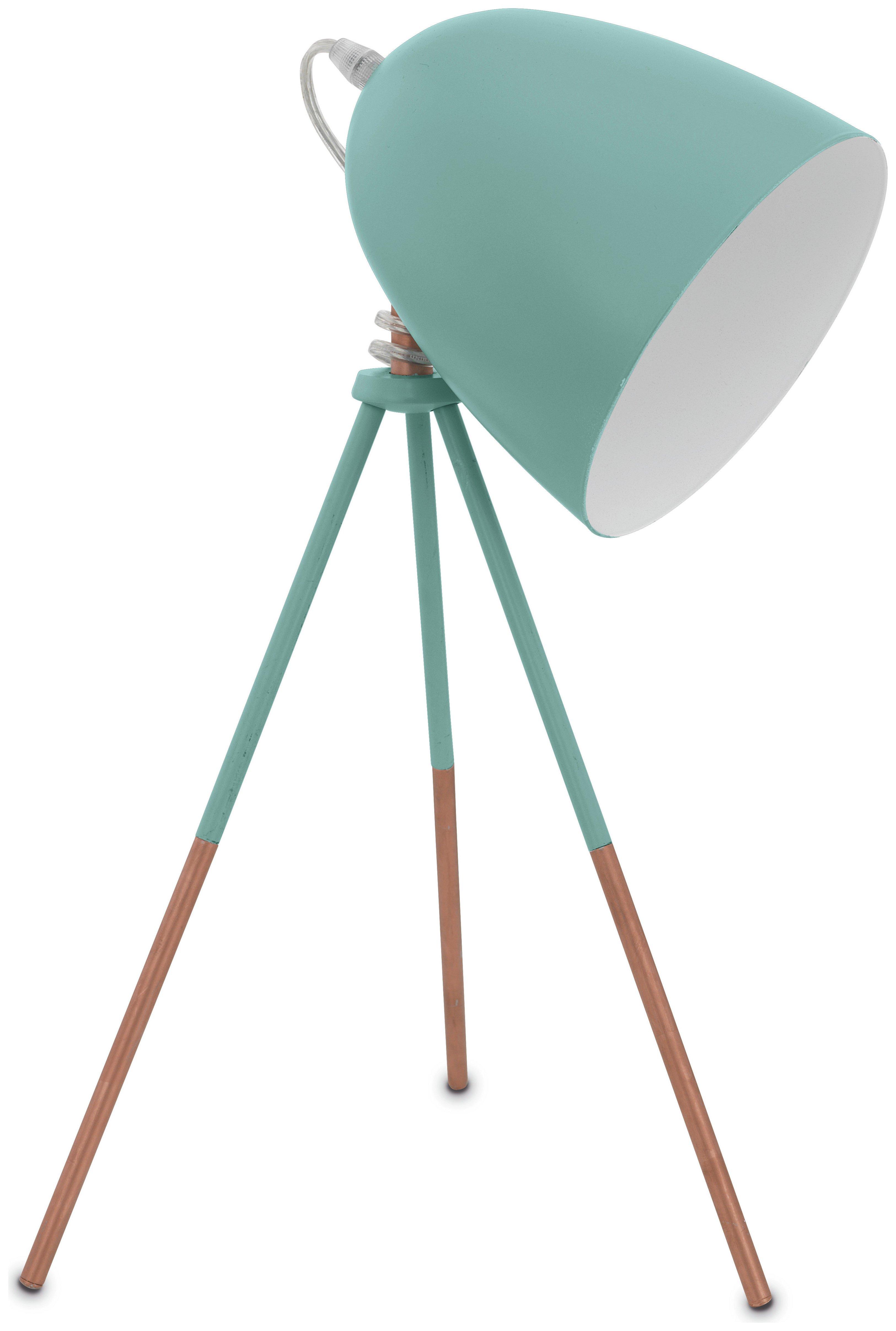 Image of Eglo Carlton Vintage Table Lamp - Mint.