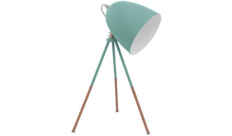 Buy Eglo Carlton Vintage Tripod Table Lamp Mint Table