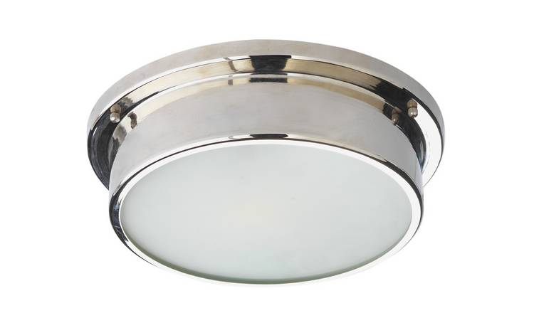 Buy Argos Home Aviemore Frosted Glass Bathroom Light Bathroom Lights Argos