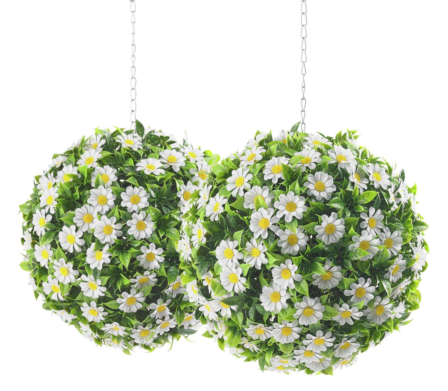 daisy-x2-art-topiary-balls-30cm