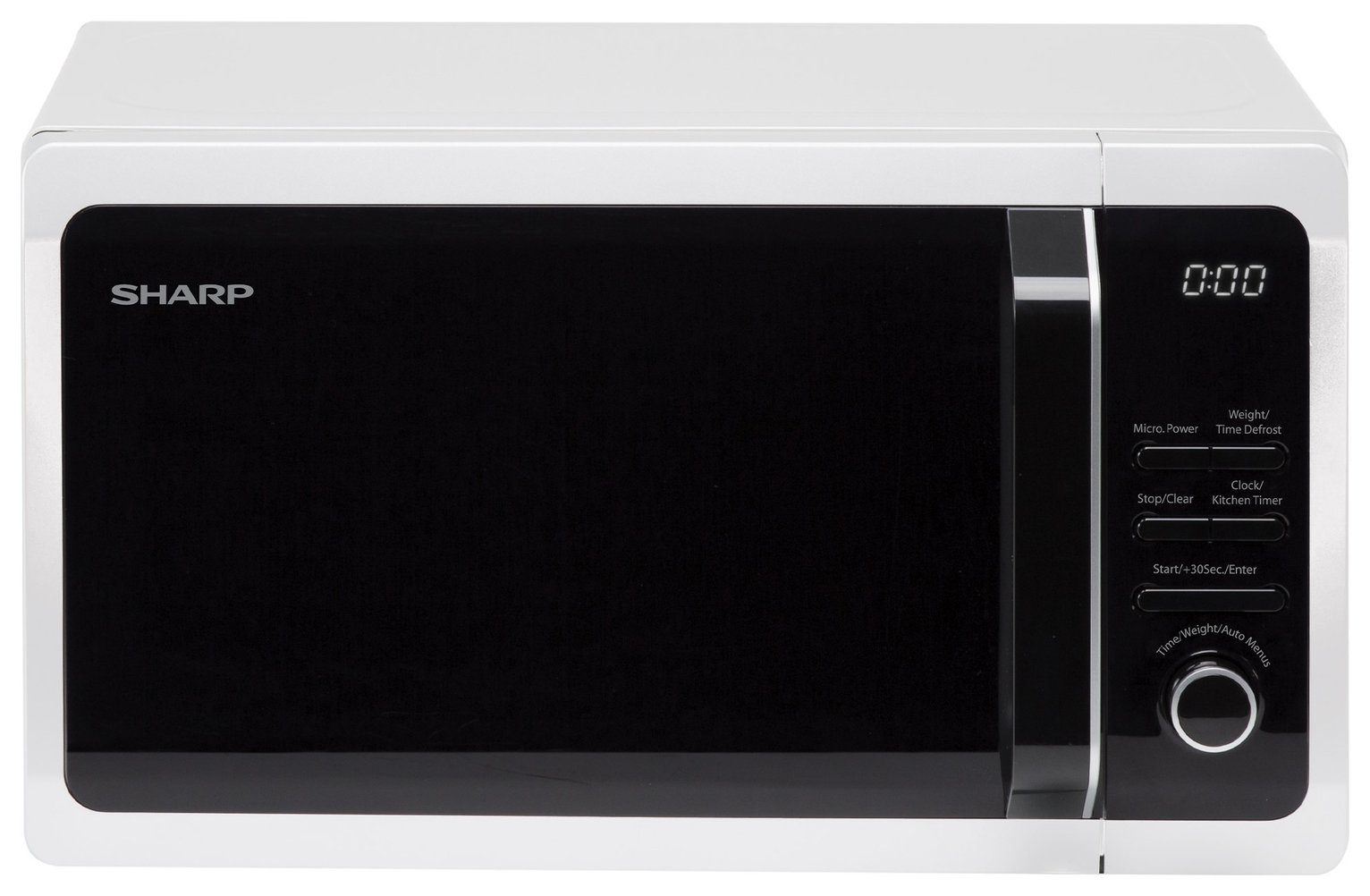 Sharp 800W Microwave R274WM - White