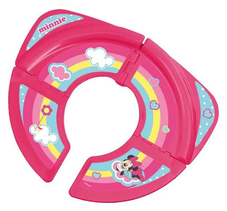 Image of Disney - Minnie Mouse Foldable Travel - Toilet Seat