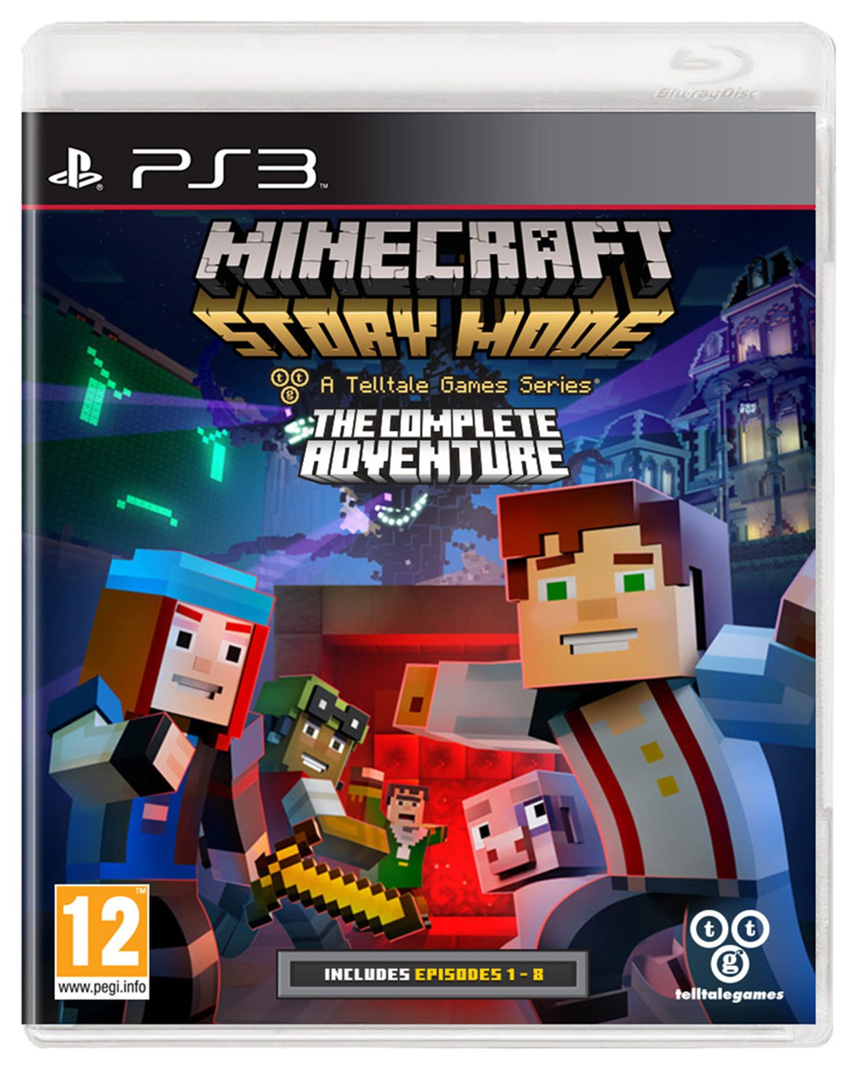 Telltale Games Minecraft Story Mode Complete Collection PS3 Game.