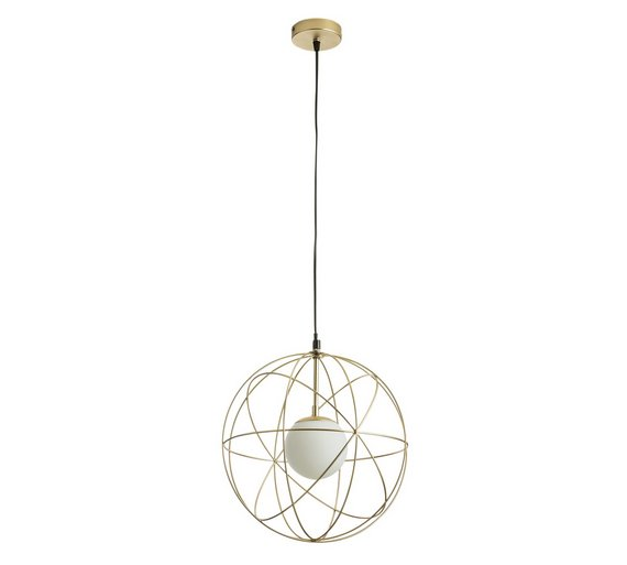 Collection Ceres Wire Sphere Pendant Light
