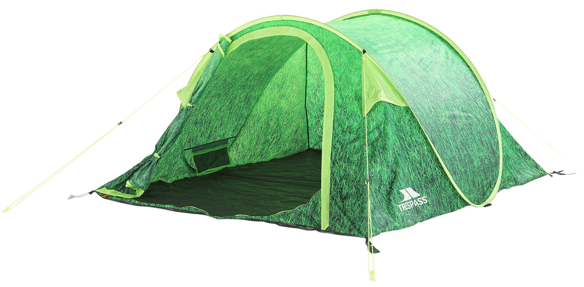Trespass 4 Man 1 Room Festival Pop Up XL Tent