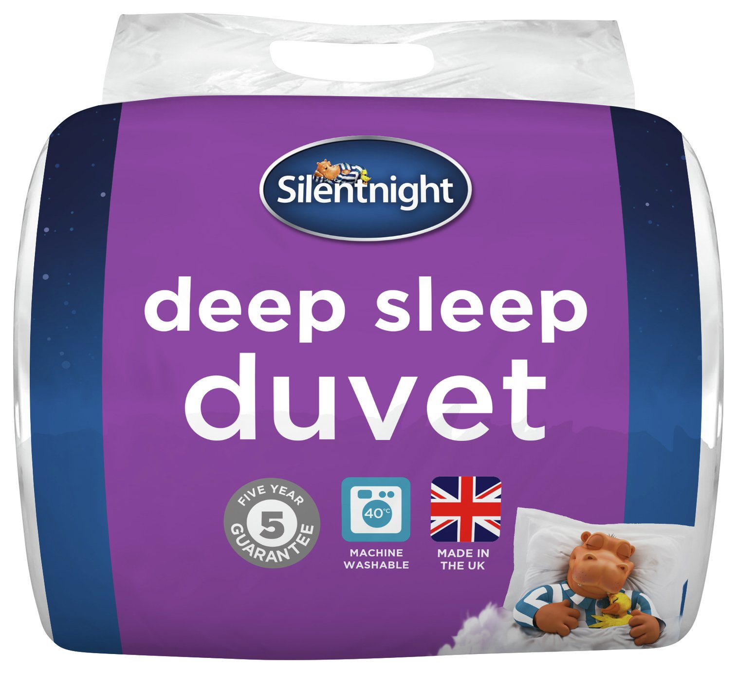 silentnight deep sleep 10.5 tog duvet  double.