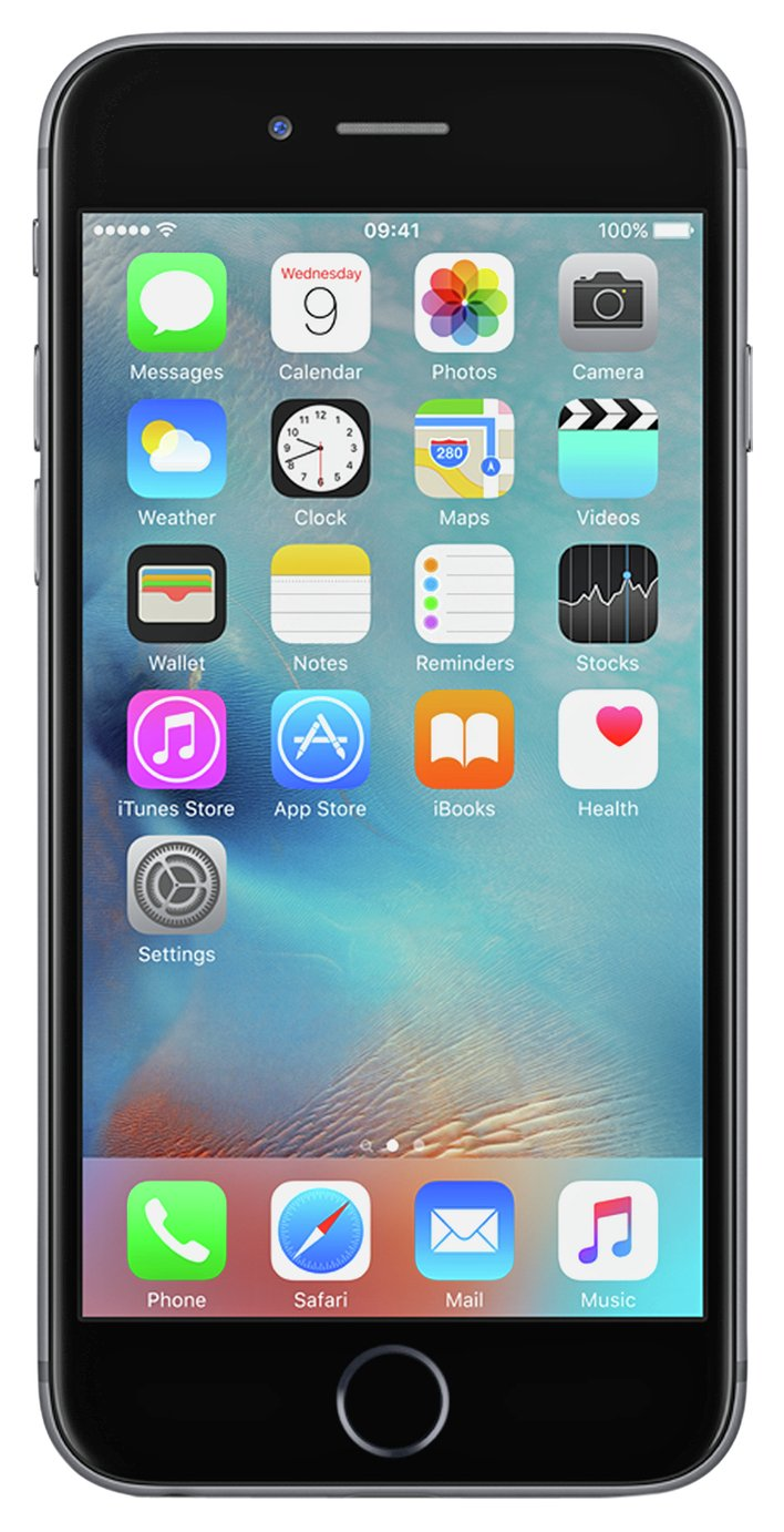 SIM Free iPhone 6s 128GB Mobile Phone - Space Grey