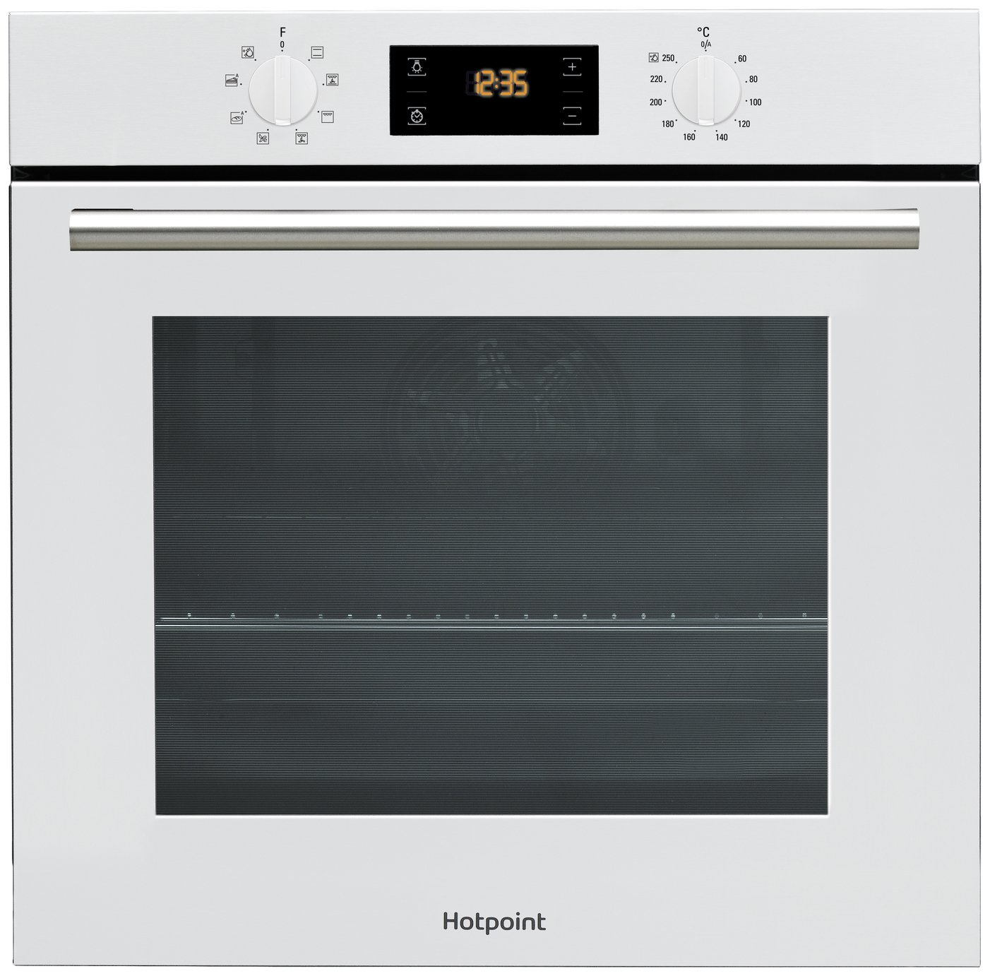 Hotpoint SA2540HWH Built In Single Electric Oven - White