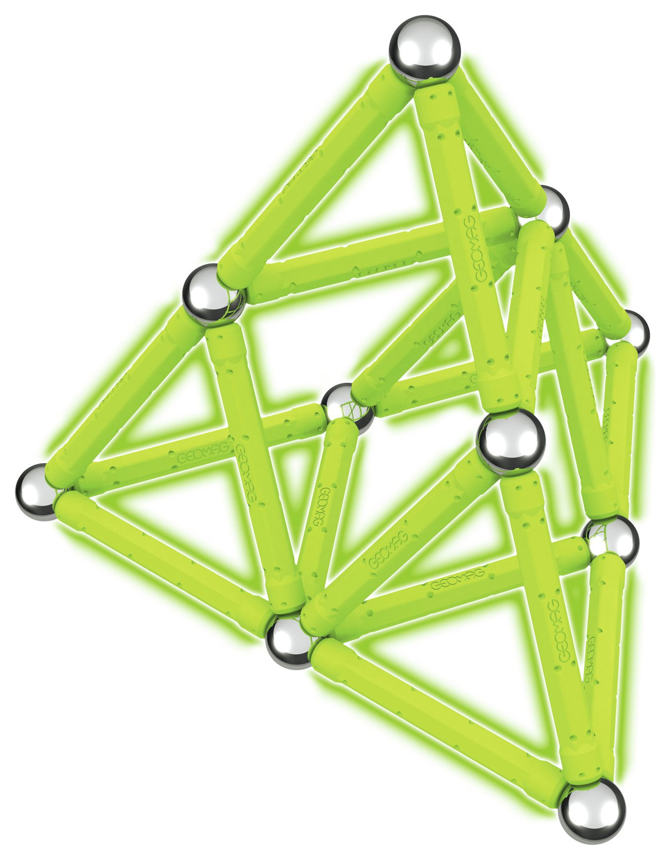Image of Geomag - Glow 40 Construction Pieces