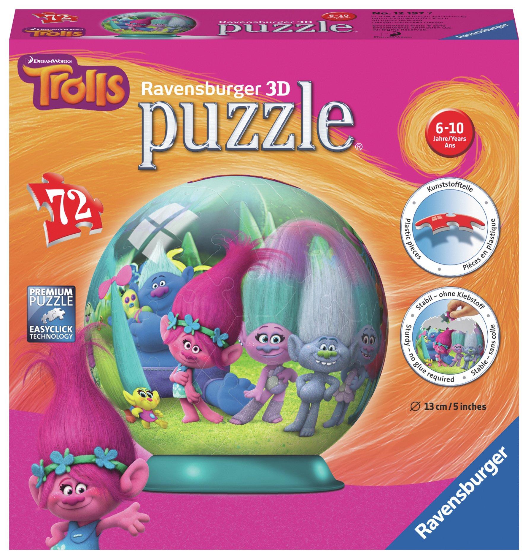 Sale On Trolls 72 Piece 3d Puzzle Dreamworks Now