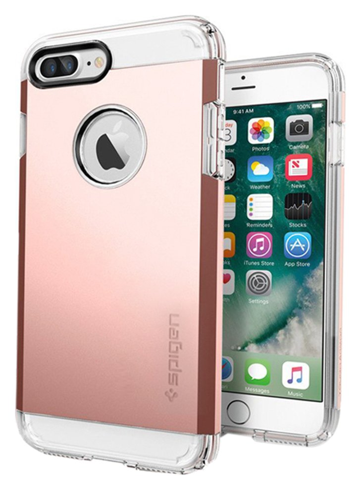 Spigen Spigen Tough Armor Apple iPhone 7 Case - Rose Gold.