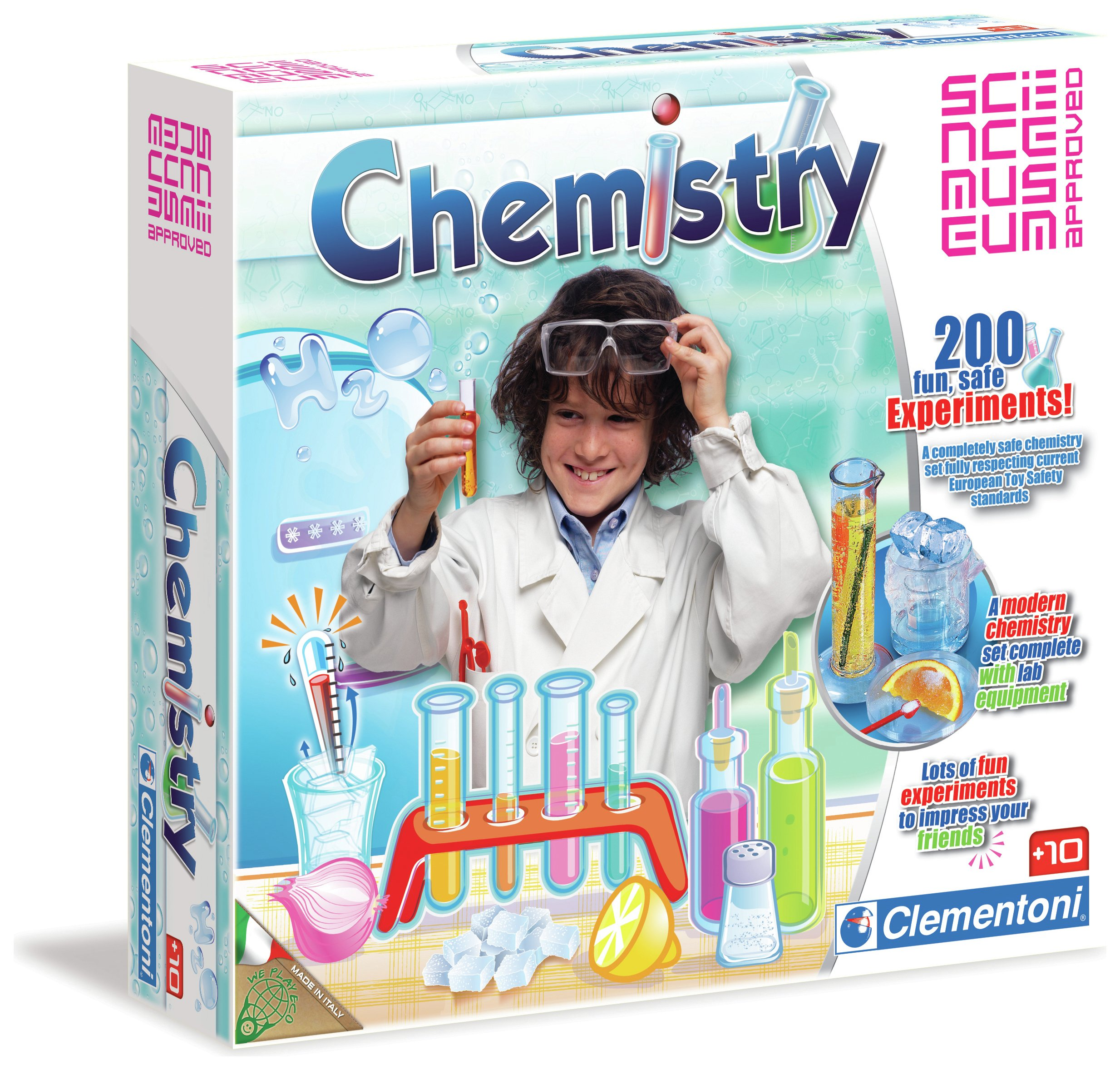Image of Clementoni Science Museum Chemistry at Home Kit.