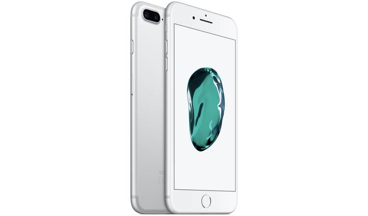 Buy SIM Free iPhone 7 Plus 32GB Mobile Phone - Silver | SIM free phones |  Argos