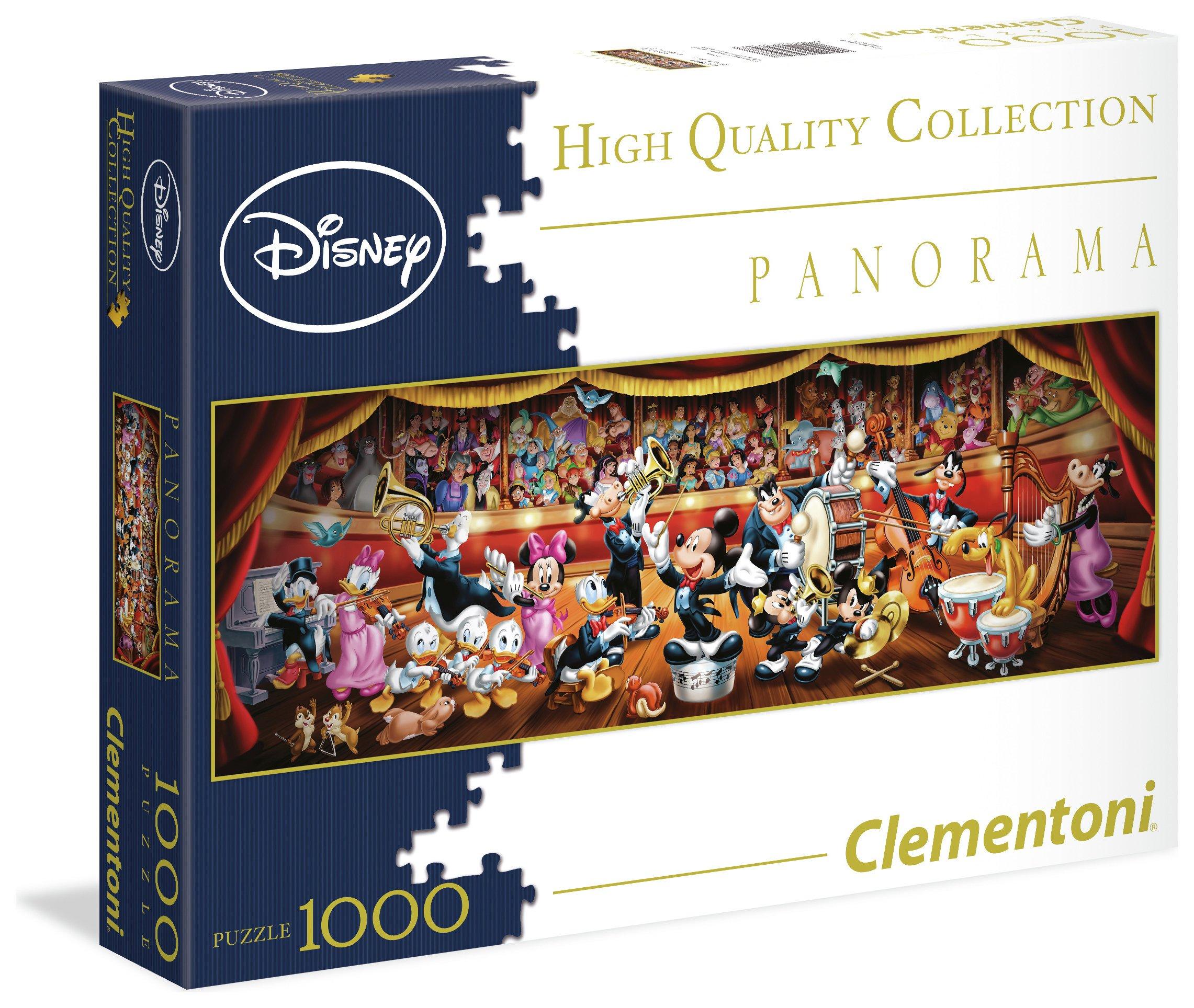 Image of Disney 1000 Piece - Panoramic Classic Puzzle.