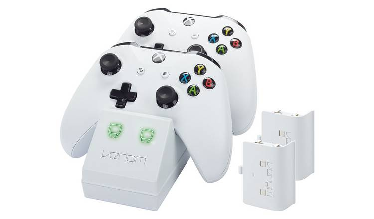 Venom Twin Docking Station for Xbox One - White