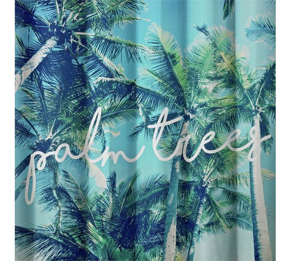 Buy HOME Palm Trees Shower Curtain