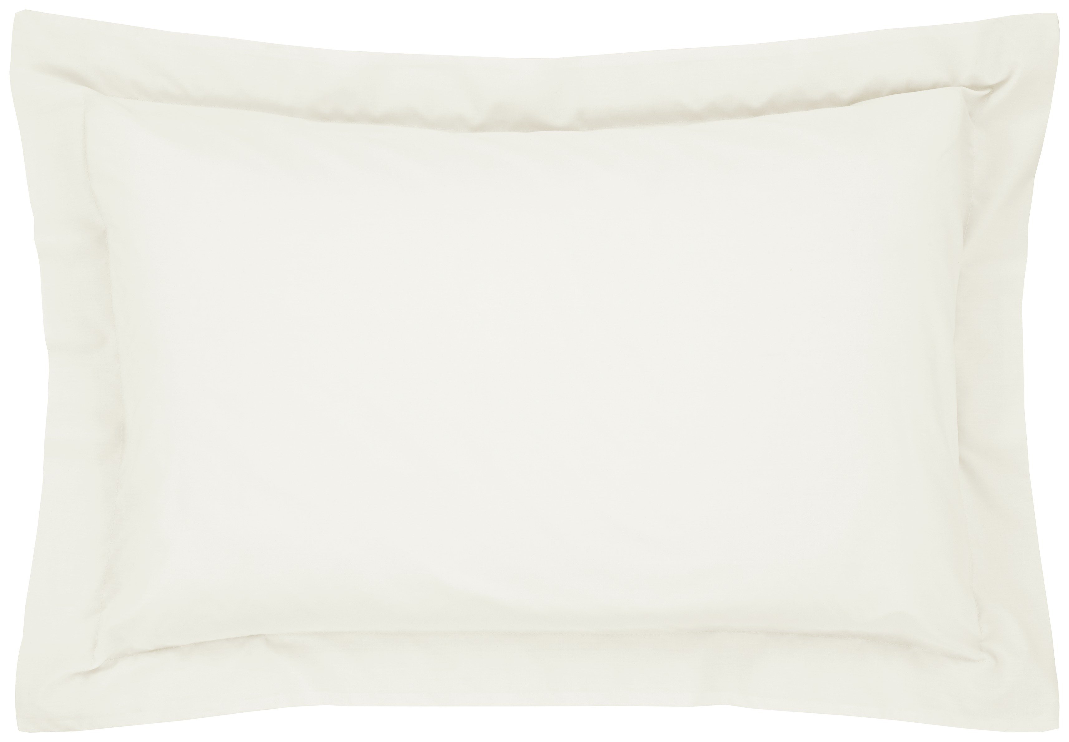 catherine lansfield oxford noniron pillowcases  cream