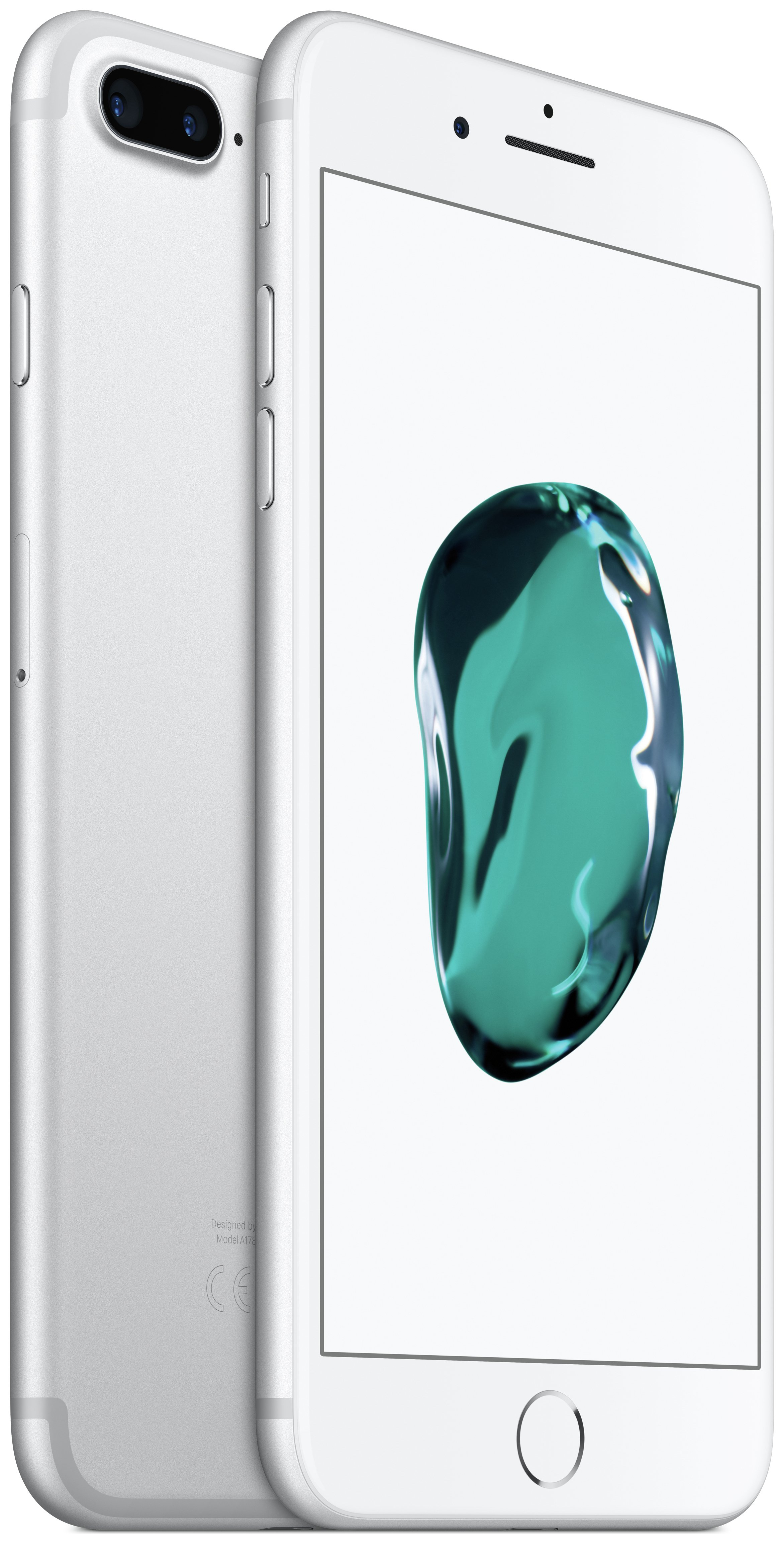 Apple Sim Free iPhone 7 Plus 128GB Mobile Phone - Silver.