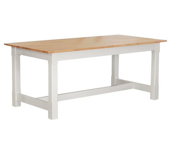 Home Of Style Sherington Solid Wood 8 Seater Table