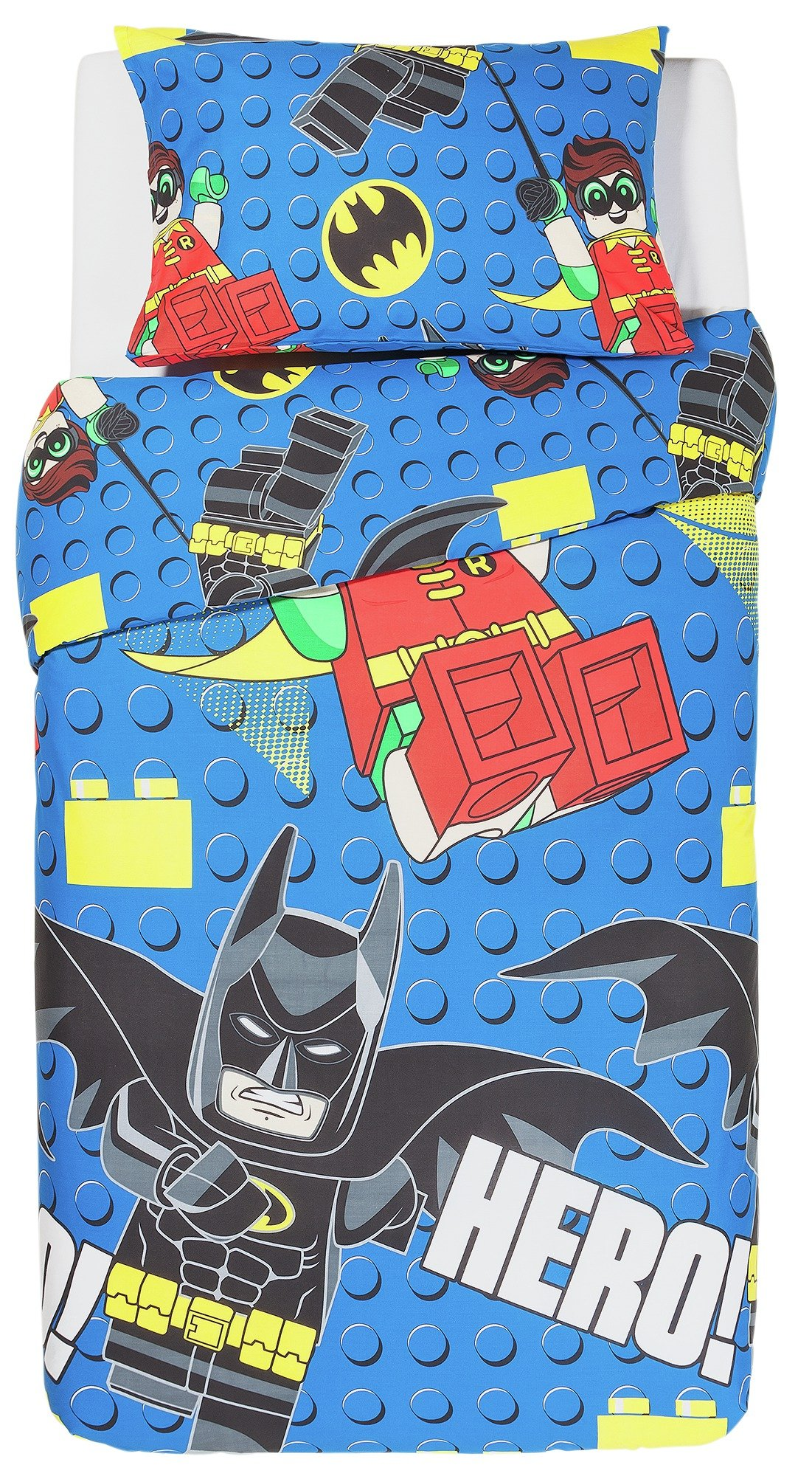 lego batman bedding set  single