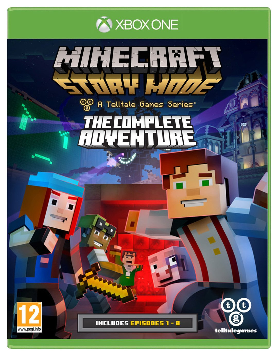 Minecraft Story Mode Complete Collection - Xbox - One Game.