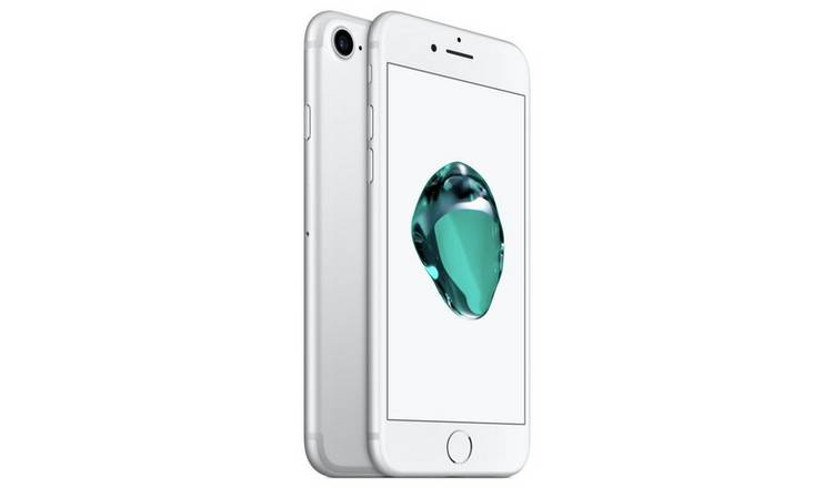 SIM Free iPhone 7 32GB Mobile Phone - Silver
