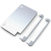 Xqisit 5000mAh Power Bank - Silver.