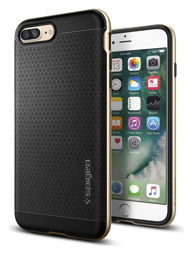 Spigen Spigen Neo Hybrid Apple iPhone 7 Plus Case - Champagne Gold.