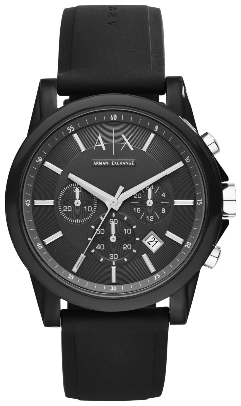 Image of Armani Exchange AX1326 Black Chronograph Watch