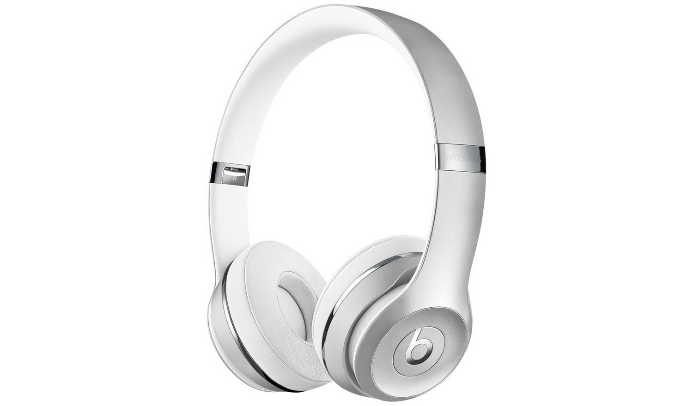 Beats by Dre Solo 3 On-Ear Wireless Headphones - Silver
