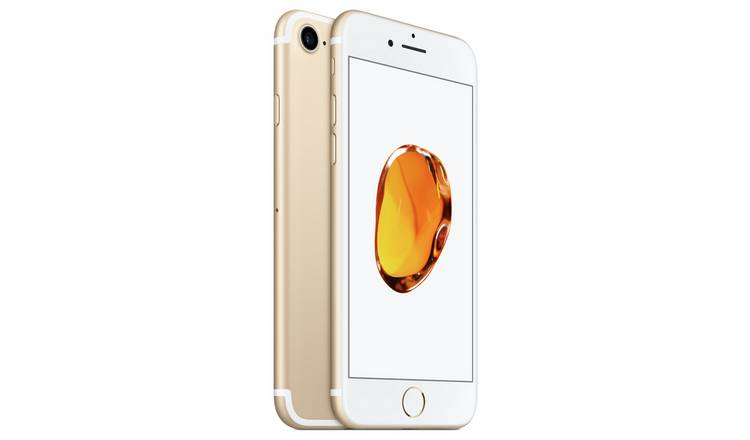 SIM Free iPhone 7 32GB Mobile Phone - Gold