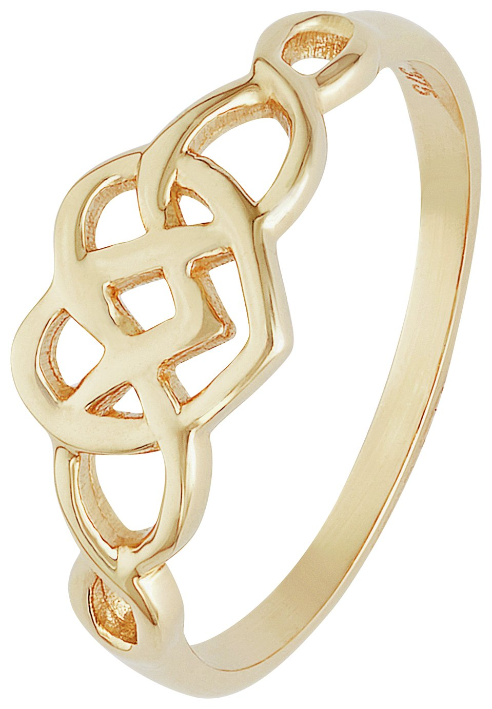 Buy Revere 9ct Gold Celtic Heart Knot Ring at Argos Your