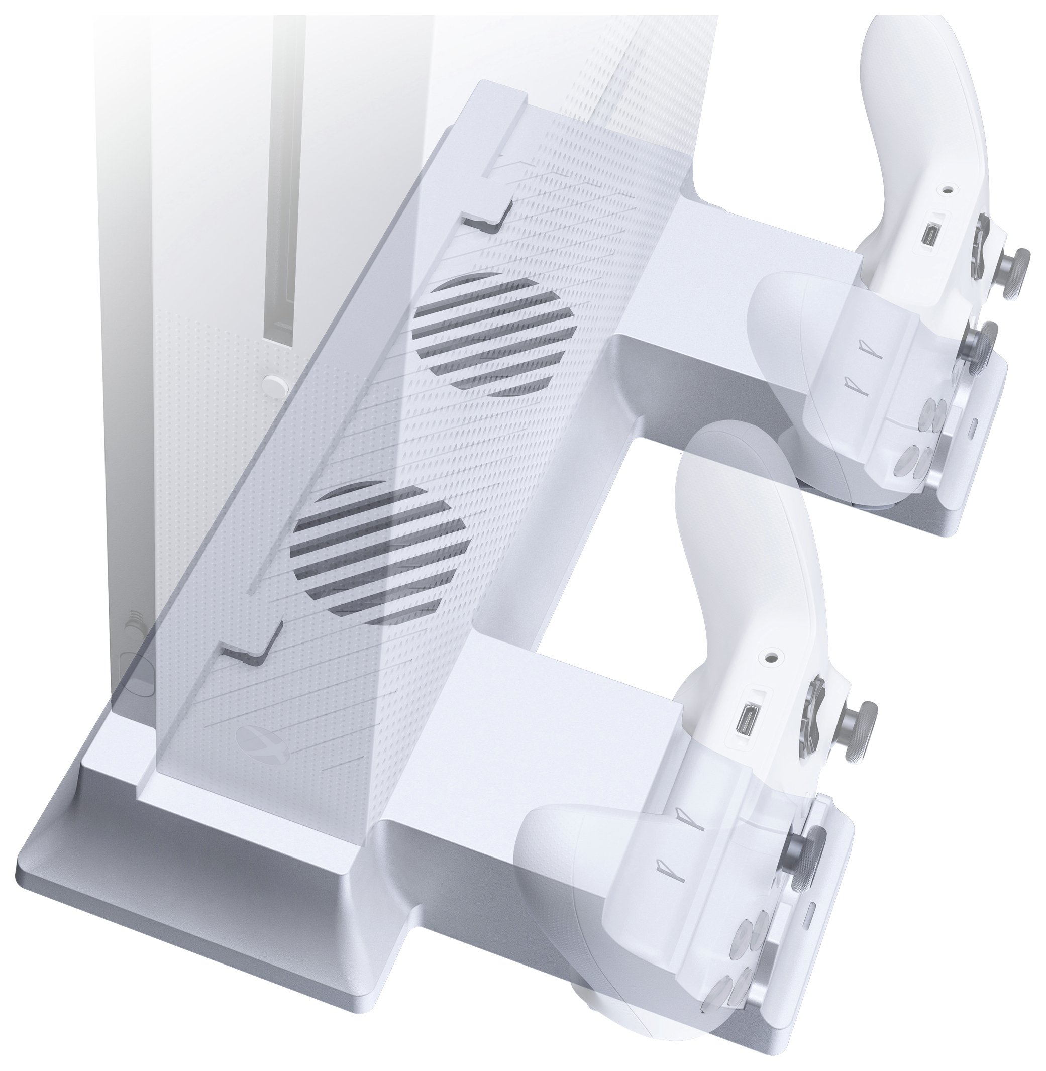 Gioteck Gioteck Xbox One S Aero S Vertical Charging Dock.