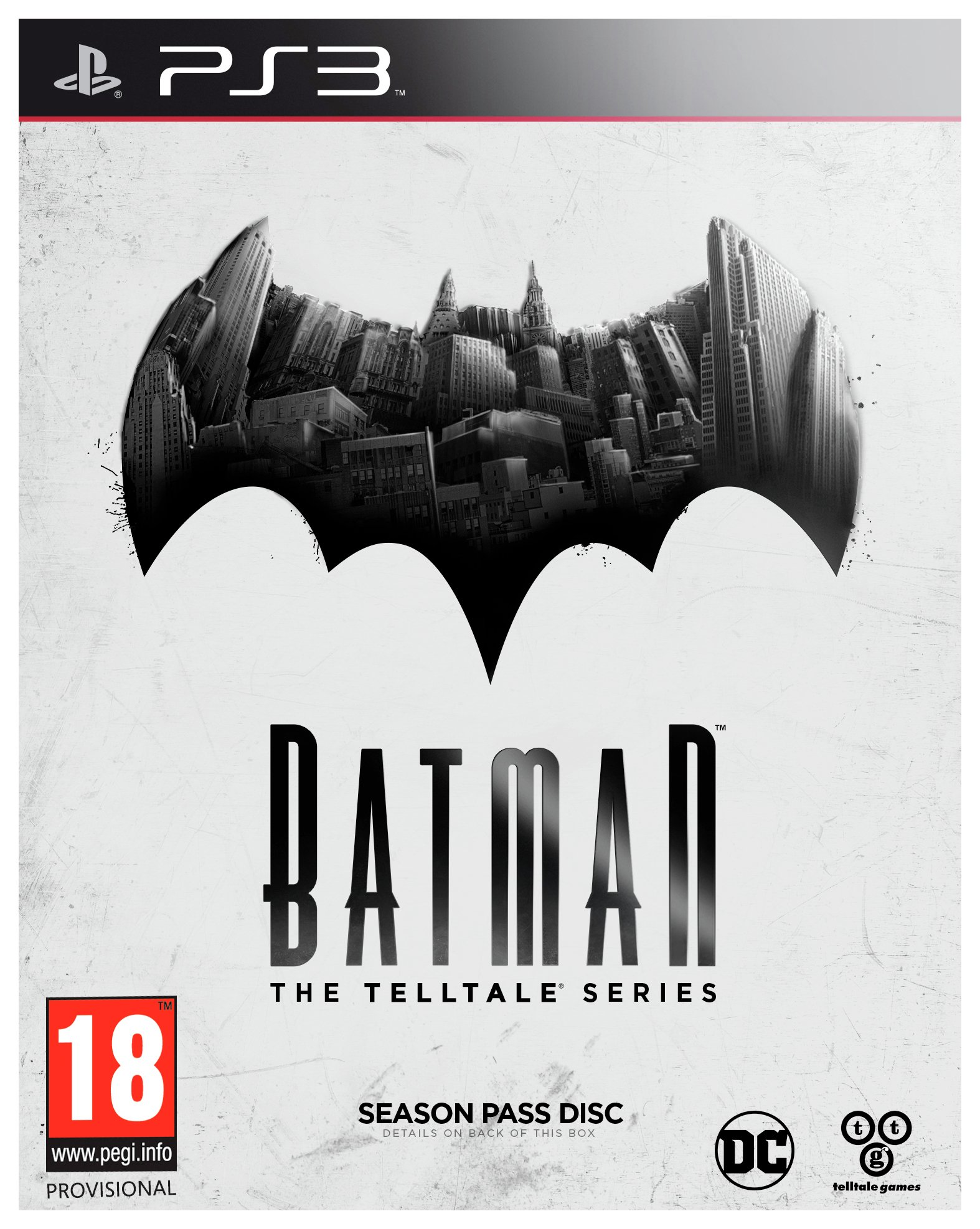 Telltale Games Batman - The Tell Tale Series - PS3 Game.